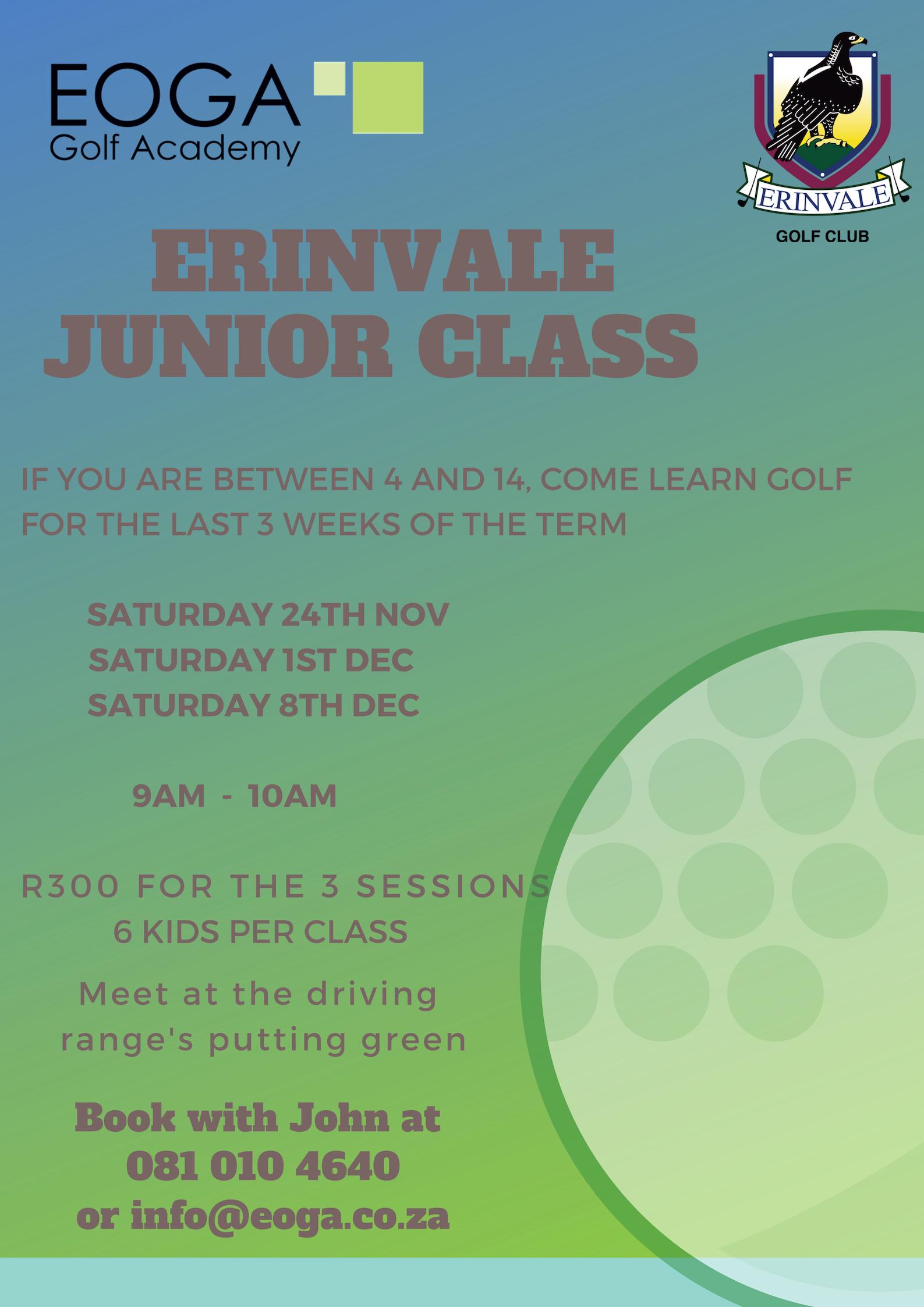 Erinvale Junior Class