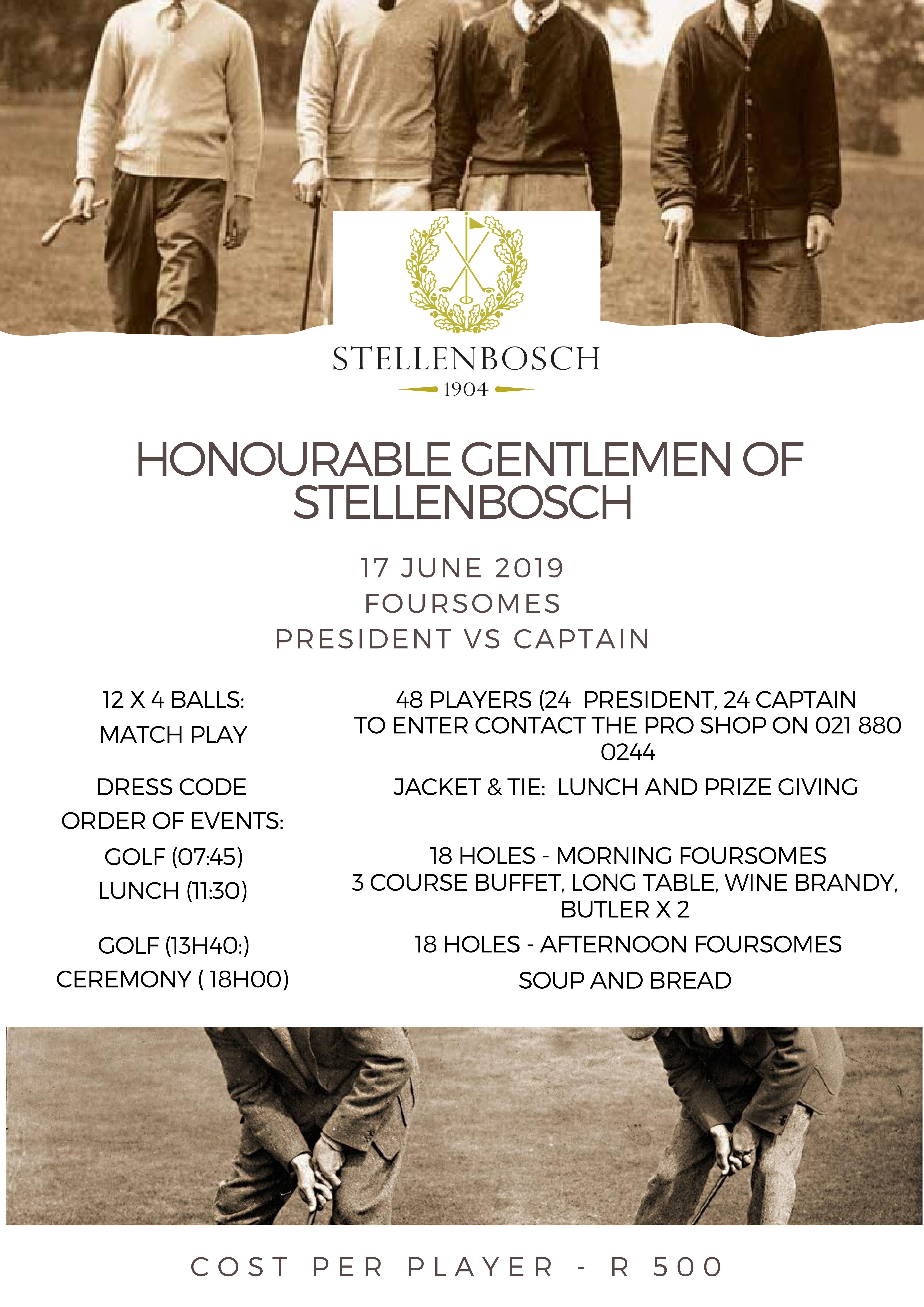 Stellenbosch Golf Club | Latest News